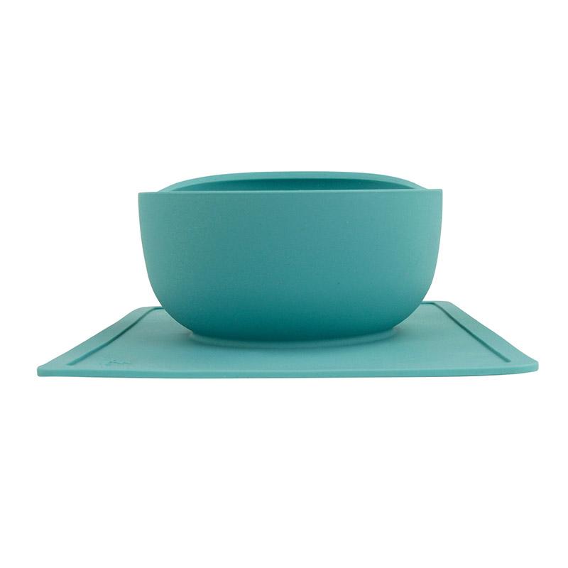 Modaliv Silicone Placemat Scooper Bowl | Modaliv